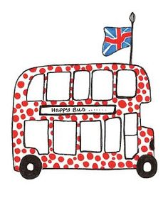 London Bus - Steph Loves to Draw