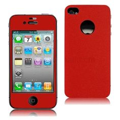 iPhone 4 / 4S Vinyl Stickers / Protective Film 2-in-1 - Front & Back -$6.9