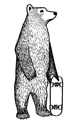 Jonas Claesson skate bear