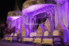 a little bit inspiration later.for my wedding BENGKULUNESE culture. Stage Decorations, Wedding Decorations, Becoming An Event Planner, Party Scene, Purple Reign, Wedding Preparation, All Things Purple, Wedding Vendors, Wedding Inspiration