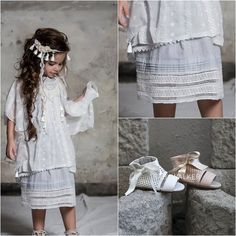 Μποέμ Βαπτιστικό σετ ρούχα/παπούτσια..χειροποίητο και απίθανο! Ανακαλυψτε τα τελειότερα βαπτιστικά στο www.angelscouture.gr