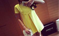 2014 verano decoración ropa suelta más la maternidad del color del caramelo del arco una sola pieza del vestido vestido de maternidad libre del envío-inDresses de Ropa y accesorios en Aliexpress.com | Grupo Alibaba