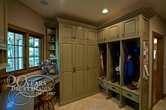 lovely mud room