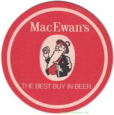 MacEwan's Beer Coaster Pale Ale Beers, Beer Coasters, Cool Things To Buy, Cool Stuff To Buy