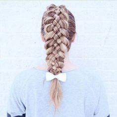 Dutch five strand braid