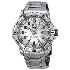 Luminox Colormark Mother of Pearl Dial Stainless Steel Ladies Watch A.7258 Luminox. $523.00. Synthetic Sapphire Crystal. 200 Meters / 656 Feet / 20 ATM Water Resistant. Quartz Movement. 42mm Case Diameter