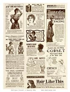 victorian fashion ads - - Yahoo Image Search Results