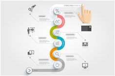 Business Timeline Infographics by Graphixmania on Creative Market