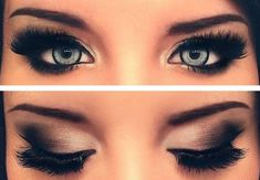 Get A Perfect Smokey Eye In Minutes You will look stunning if you follow these simple steps View full post »