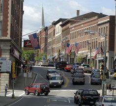 Brattleboro, Vermont. Some say a kinda mini-San Francisco of the East. www.discoververmontvacations.com