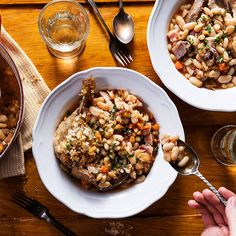 This year, finally master cassoulet, the French stew of white beans, duck confit and garlic sausage. (Plus, find an Instant Pot cassoulet recipe, too.) Pork Recipes, Wine Recipes, Great Recipes, Cooking Recipes, Favorite Recipes, French Dishes, French Food, Paris Kitchen, Duck Confit