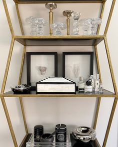 Black and white accessories to keep it chic for this primary bathroom bookcase. Alice Lane Home Alice Lane Home, Visual Texture, W 6, Bones, Bookcase, Shelves, Black And White, Bathroom, Elegant