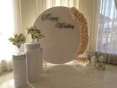 Arch Decoration, Backdrop Decorations, Wedding Decorations, Flower Wall Wedding, Flower Bouquet Wedding, Floral Wedding, Wedding Pillars, Picture Backdrops, Floral Arch