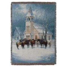 A wonderful selection of Christmas throw blankets and Holiday themed tapestry throws blankets, and afghans   Cindy's Throws