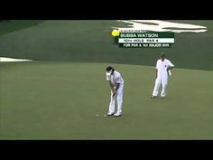 Bubba Watson #MastersChamp!  Congrats! Pga Golf Tournament, Augusta National Golf Club, Golf Stuff, Golfers, Masters, Kicks, Quotes, Sports, Youtube
