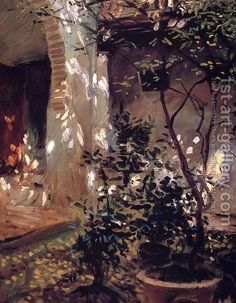 John Singer Sargent Granada: Sunspots - The Largest Art reproductions Center In Our website. Low Wholesale Prices Great Pricing Quality Hand paintings for saleJohn Singer Sargent Paintings I Love, Beautiful Paintings, Granada, Landscape Art, Landscape Paintings, John Singer Sargent Watercolors, Beaux Arts Paris, Sargent Art, Dappled Light