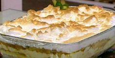 Receita de Surpresa de abacaxi e suspiro da Ana Maria Braga, Veja a Receita neste Link :     http://www.ovaledoribeira.com.br/2012/02/receita-de-surpresa-de-abacaxi-e.html