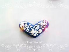corazón , 100% artesanal, arcilla polimerica, puedes personalizar el tuyo eligiendo colores, detalles y tamaño, siguenos por facebook: www.facebook.com/... hacemos envíos a TODO EL MUNDO #polymer #clay #handmade ship all over the world