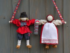 nerazluchniki, Russian folk cloth doll