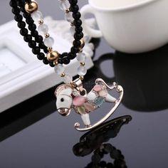 Ailisha Korean Accessory Retro Cat's Eye Crystal Sweater Long Necklace 3105 Little Pegasus #madeinchina #necklace >http://dxurl.com/RaPJ