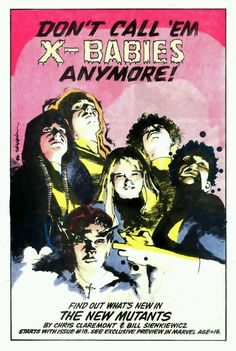 New Mutants by Bill Sienkiewicz
