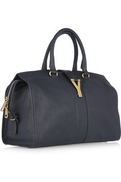 Large YSL Cabas Chyc in Peacock Blue Leather | Dream Shoes \u0026amp; Bags ...