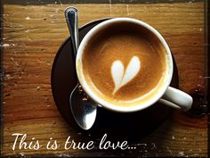 This is true love!  Morning coffee! Artisanal puerto rican coffee!