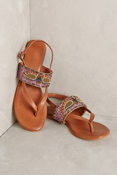 Winged Sandals by Deepa Gurnani