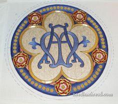 Goldwork & Silk Ecclesiastical Embroidery Mary Corbet...Gorgeous!