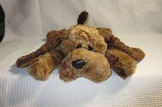 "TY Hound Dog Vintage 17"" Brown Puppy Plush 1994 Memphis? Elvis? Lays Floppy Ears #Ty"