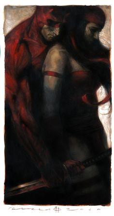 Daredevil and Elektra