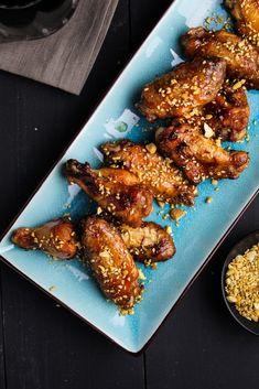 Korean Gochujang Wings {Katie at the Kitchen Door} #LaCremaStyle