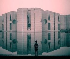 National Assembly Building in Dhaka, Bangladesh. Built (1961-82) architect Louis Kahn. ; #ISC20C photo via #brutgroup ; Use the #ISC20C tag for the possibility to have your shots featured. All information thus collected will be published on our profile and included in ICOMOS - ISC20C archive.