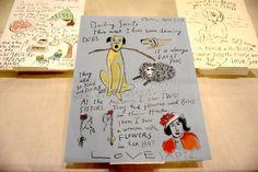 Maira Kalman: 'If You Don't Digress And Go Off The Point, I Think You Miss The Point' – WONDERLAND Tibor Kalman, Maira Kalman, Sally Hemings, Daniel Handler, High Museum, Cecil Beaton, Eric Carle, Wool Felt, Book Art