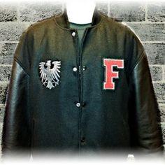 Image of College Jacke Old School Frankfurt