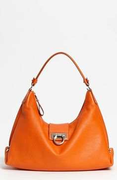 Salvatore Ferragamo  New Fanisa  Leather Hobo available at  Nordstrom  Modern Classic a94b21adcc118