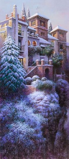 Luis Romero Art.♥..¸¸.•♥ Out Of A Fairytale? No. . .This Is For Real!
