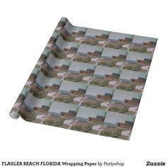 FLAGLER BEACH FLORIDA Wrapping Paper