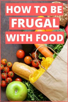 Being frugal with food are easy ways to save money. These frugal livings tips will improve your budget and help you to save more money or live debt free. Perfect for beginners. Implement these life hacks and start cooking healthy meals. Frugal Living Tips, Frugal Tips, Frugal Meals, Budget Meals, Healthy Meals To Cook, Healthy Recipes, Meals Without Meat, Easy Meal Plans, Money Hacks