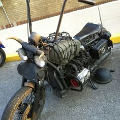 Another stripped down wing Rat Bikes, Cool Bikes, Mad Max Motorcycle, Bobbers, Rats, St Louis, Madness, Honda, Motorcycles