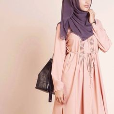 Pink Long Tunic Dress | INAYAH www.inayahcollection.com #inayah#shirtdress
