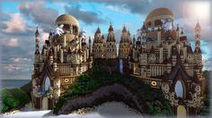 Tropical sandstone castle: http://imgur.com/a/5Frlk