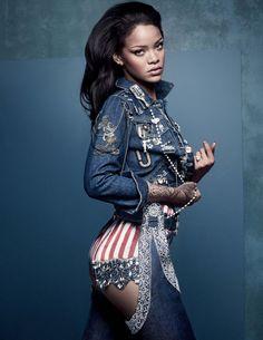 Rihanna by Craig McDean for British Vogue April 2016