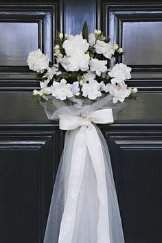 Wedding Shower Door Decor Ideas - Wedding Planning Ideas By WeddingFanatic