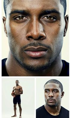 Reggie Bush.. Oh. My. GOODNESS :) look at those eyes!