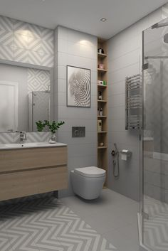 Did you know at Amber Tiles Seaforth we have a team of qualified Interior Designers ready to Contemporary Bathrooms, Modern Bathroom, Small Bathroom, Master Bathroom, Bathroom Tile Designs, Bathroom Interior Design, Bad Inspiration, Bathroom Inspiration, Bathroom Cladding