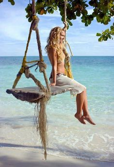 Want to find this beach and swing!!