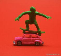 Abusón! Bájate de mi coche!