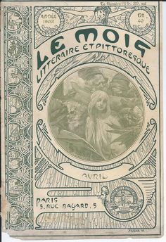 Original Alphonse Mucha Cover Le Mois 1902 for sale,leave a message here if your intrested
