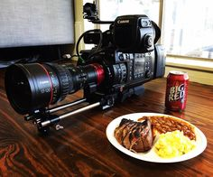 Canon C700 Show Today with Franklin BBQ and Big Red 10-3 Today http://texasmediasystems.com/tms-shows/ #C700